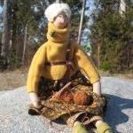 Autumn Decor Cloth doll Agrippina