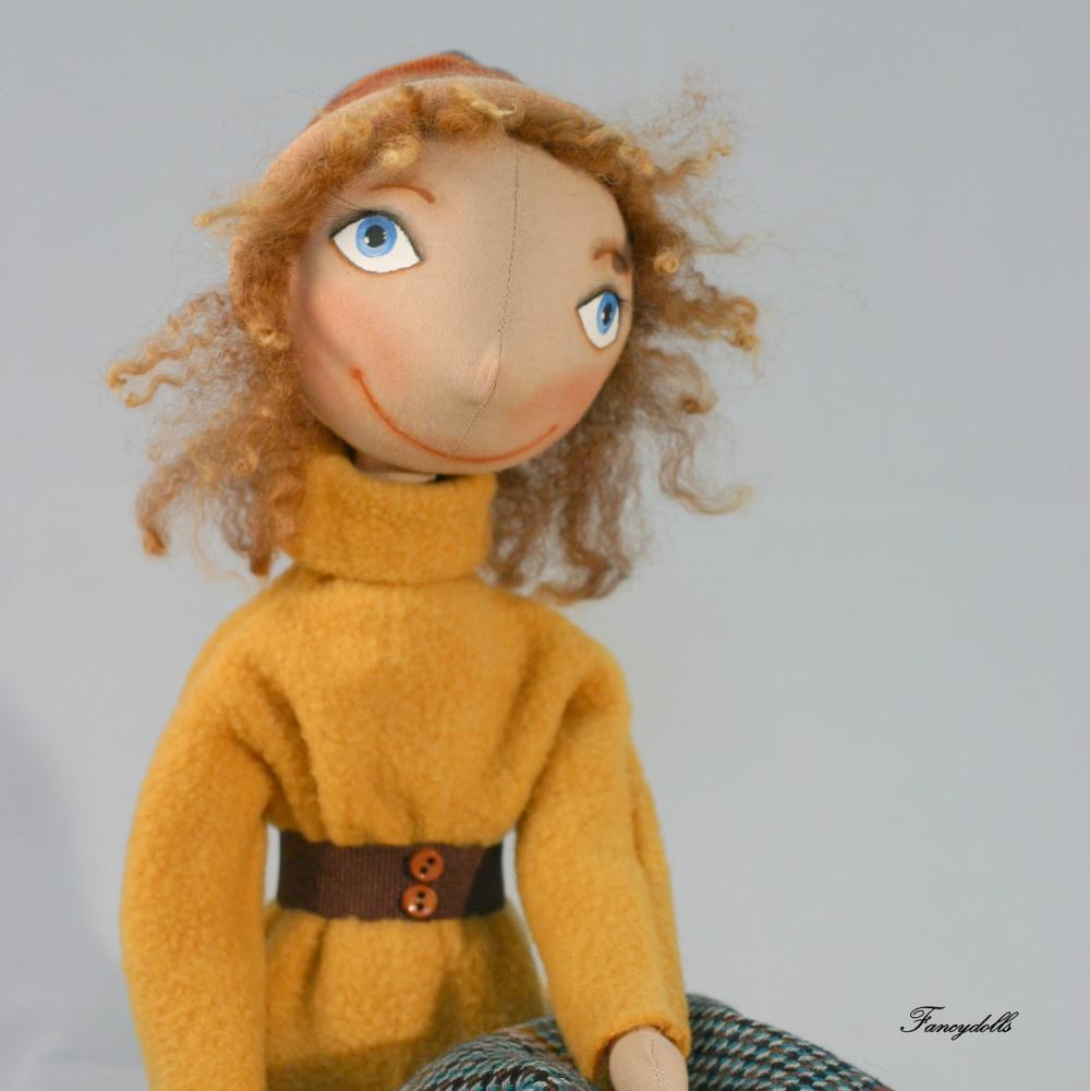 Cloth Doll Nina