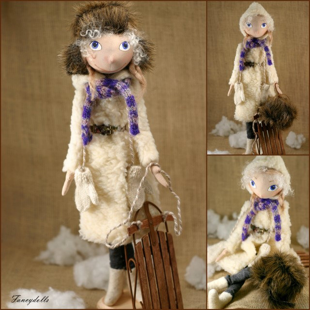 Cloth Doll Lisa