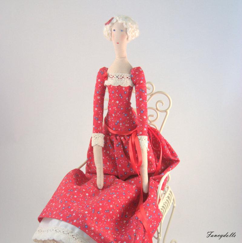 Cloth doll Tilda Agatha