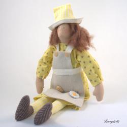 Cloth Doll Bee Keeper