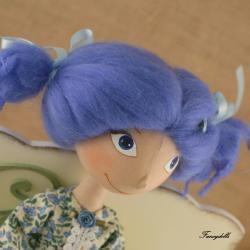 Cloth Doll Malvina - made to order